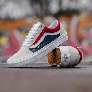 VANS OLD SKOOL RETRO BLOCK Men's Skate Shoes